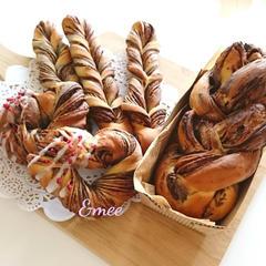 プレゼントにも可愛いパン♡ 成形いろいろチョコパン