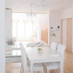 白を基調にした清潔感のある空間づくり