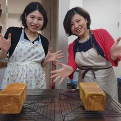 御姉妹で参加していただきました。パン作りも息ぴったり!