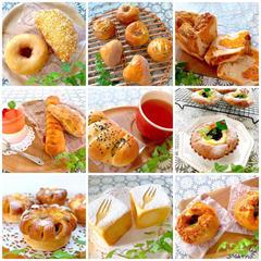 成形も楽しみながら様々なパン作り♡