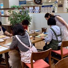 6月の札幌三越マイカフェレッスン風景です。