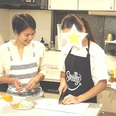 野菜の切り方を特訓中!