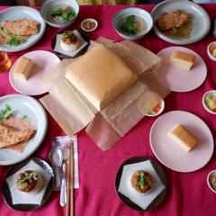 シリーズ④台湾カステラ、鶏排(台湾唐揚げ)等等