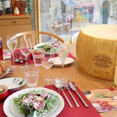 パルミジャーノ・レッジャーノ チーズ料理レッスン。