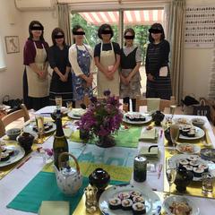 お料理教室風景