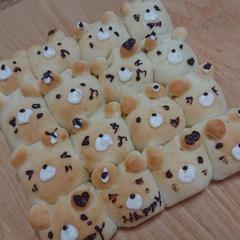 人気の「くまさんちぎりパン」