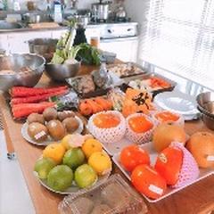 11月「やさい塾」は人参、蓮根、ごぼう、かぶ、キウイフルーツ