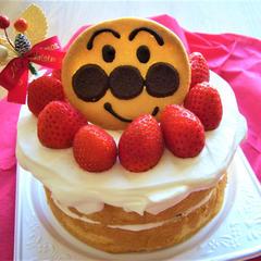 あんぱんまんのケーキ
