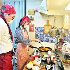 料理の基礎 マンツーマンレッスン ラタトゥイユを作りました