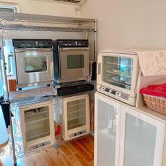 レッスンで使用している、オーブン·発酵器です。