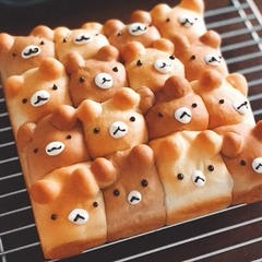 1dayレッスン 『クマのちぎりパン』