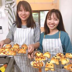 仲良し二人で手作りパン