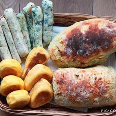 【初めてのパンはママのパン】離乳食・ベジフルパン