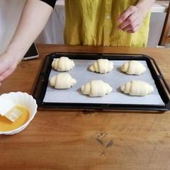 初めての方にも美味しいパンを作って頂けてます。