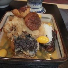 さんまと椎茸のおろし煮