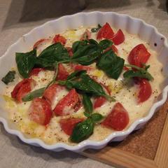 焼きトマトとモッツァレラ
