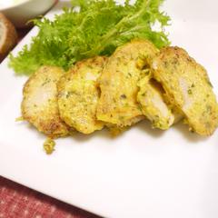 鶏ハムピカタ