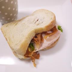 カリカリ蓮根サンドイッチ