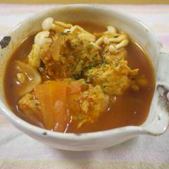 チキンダンプリングカレースープ