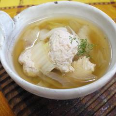 中華鶏団子スープ