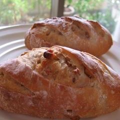 あこ酵母の胡桃パン