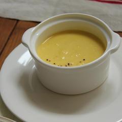 昆布だしの冷製コーンスープ