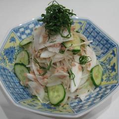ツナ缶のエコサラダ