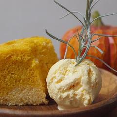 米粉のかぼちゃシフォンケーキ