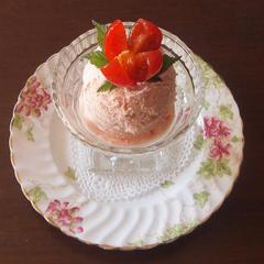 トマトのアイスクリーム又はムース
