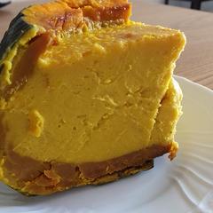 丸ごとかぼちゃのチーズケーキ