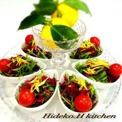 紫野菜のラペ・サラダ