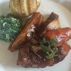 チキンと根菜のバルサミコ煮