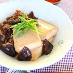 豆腐のとろーんがたまらない肉豆腐