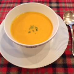 粘膜を強くする パンプキンキャロットスープ