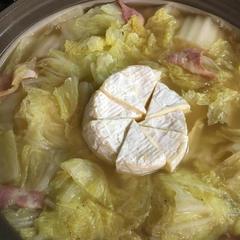 冬だ!鍋だ!簡単カマンベールチーズ鍋