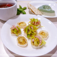 【お野菜:リーキ】リーキのココナッツソテー