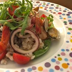 魚介のイタリアンサラダライス