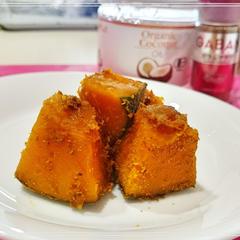 【お野菜:かぼちゃ】基本の蒸し方とココスパイス味