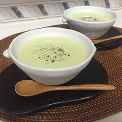 夏にピッタリ☆枝豆の冷製ポタージュ