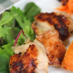 塩麹漬け鶏肉