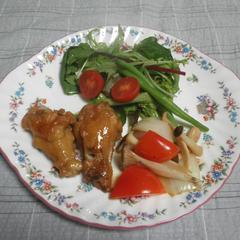 鶏手羽元の柔らかバルサミコ煮