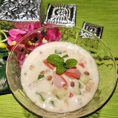 ダルーラ豆のサラダヨーグルト