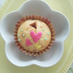 キャラメルカップケーキ