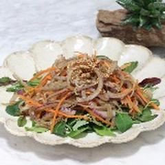 ヤーコンのヘルシーきんぴらサラダ