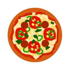 ベーシックなピザ生地