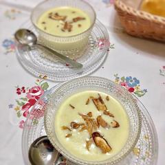 アスパラガスの冷製ポタージュスープ