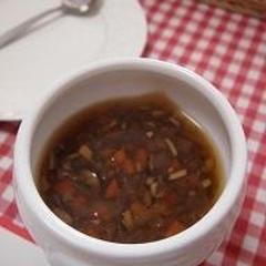 炒め玉ねぎのスープ