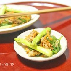 ツナと野菜の炒めもの