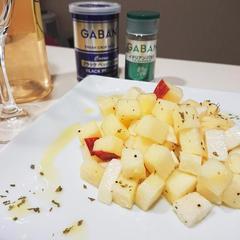 Antipasto・長芋とりんごのマリネ