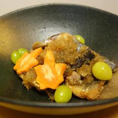 しょうがみりんを使った秋刀魚の飴煮